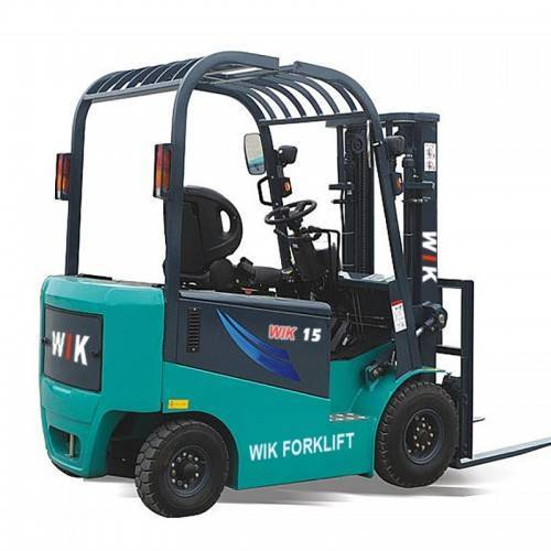 Factory wholesale Off-Road Diesel Forklift - 1.5 ton full AC electric counterbalanced forklift – Wilk