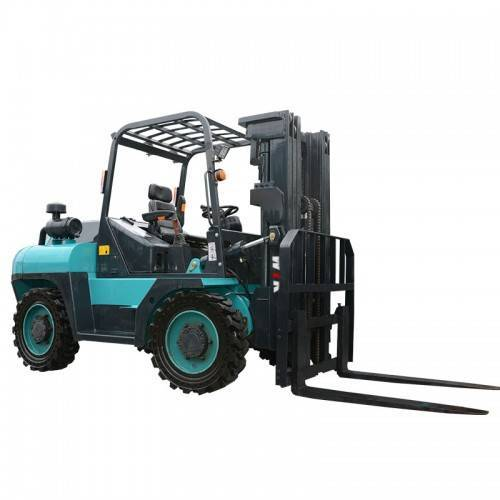 High definition Forklift Diesel 4×4 - 3 ton 4WD rear steering Forklift Trucks – Wilk