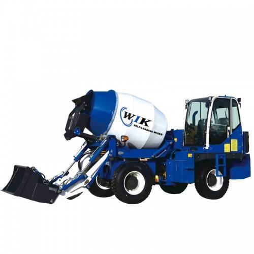 WIK 3200 Self Loading Concrete Mixers