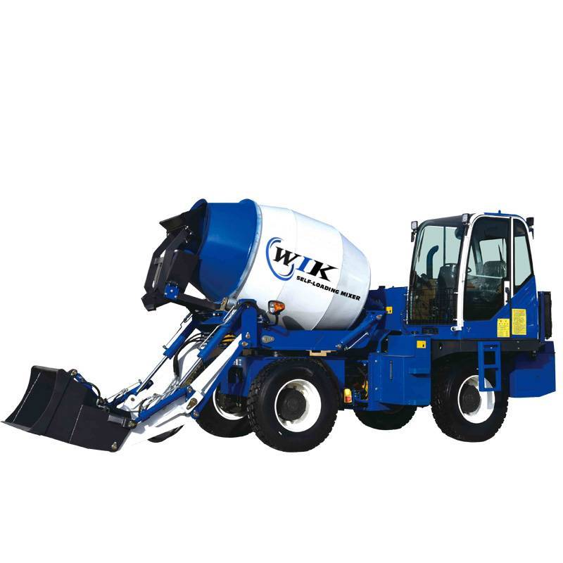China Supplier Concrete Mixing - WIK 3200 Self Loading Concrete Mixers – Wilk
