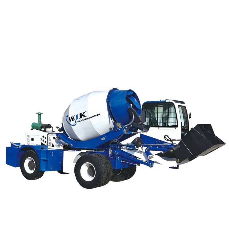 OEM Supply Electric Concrete Cement Mixer - WIK 4000 Self Loading Concrete Mixers – Wilk