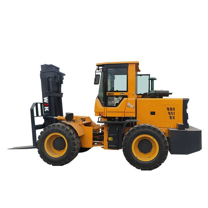 2020 China New Design Four Wheel Drive Forklifts - 5TON 4WD Forklift Trucks – Wilk