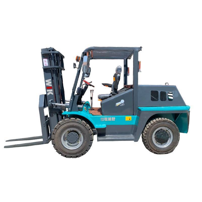 2020 Good Quality Wheel Forklift - 3.5 TON 4×4 Four turns Forklift – Wilk