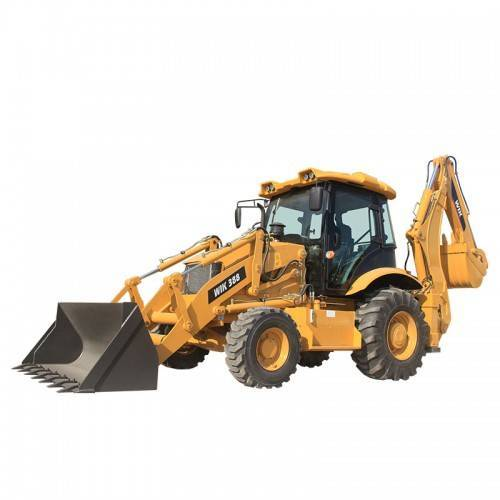 Top Suppliers Small Articulated Backhoe Loader - WIK388 Backhoe Loader – Wilk