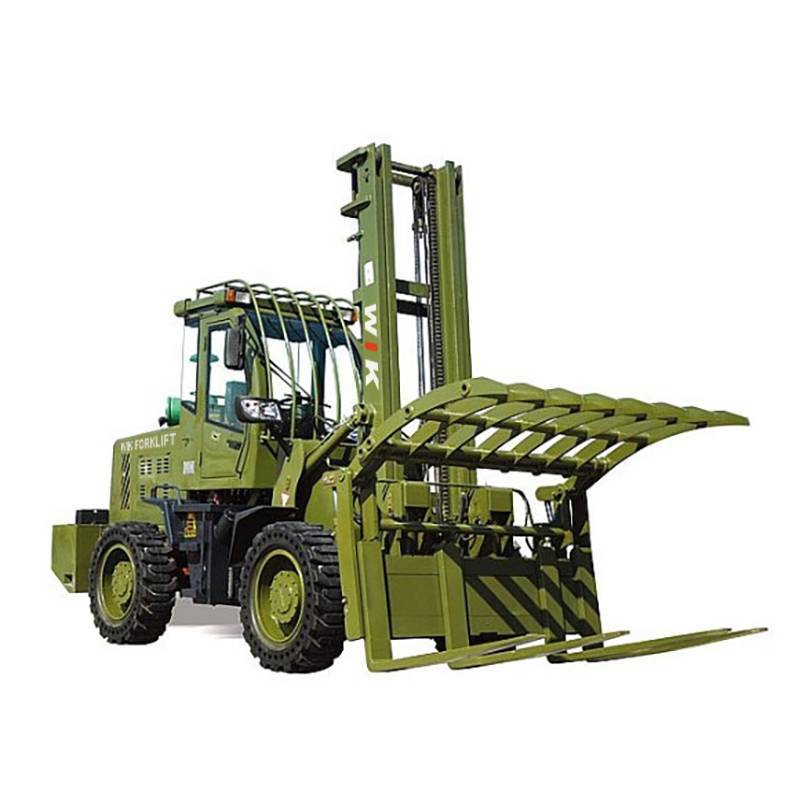 Wholesale Price 4×4 Rough Terrian Forklift - WIK40-80  4 wheel drive forklift truck – Wilk