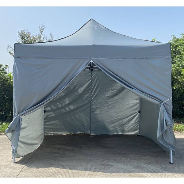 Outdoor Deluxe Steel Frame Folding Tent 10′x10′ Featured Image