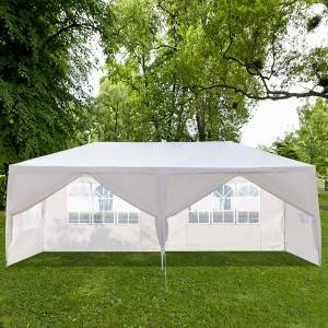High reputation Party tents wholesale - Canopy Tent Outdoor Party Wedding Tent with 6 Removable Sidewalls – WINSOM