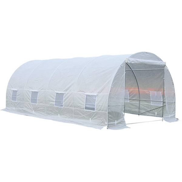 China wholesale Plastic Greenhouses - Plastic Tunnel Green House For Agriculture 6x3x2m – WINSOM