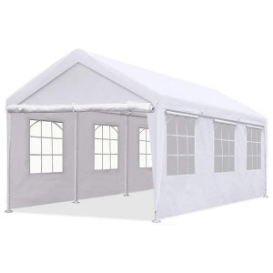 Manufactur standard Portable Car Shelter - Outdoor Car Ports And Shelters 3x6m With Sidewalls – WINSOM