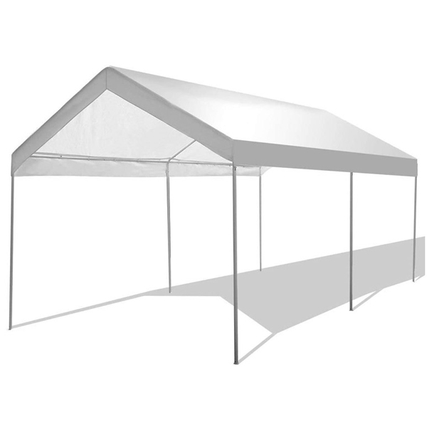 Factory Supply Steel Structure Car Garage - Portable Car Canopy With Waterproof 10′x20′ – WINSOM