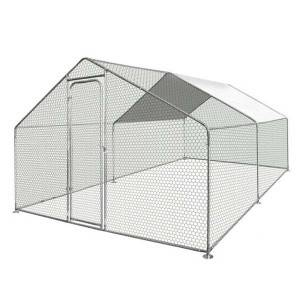 Walk In Chicken Dog Pen Run Cage Coop House Ken...