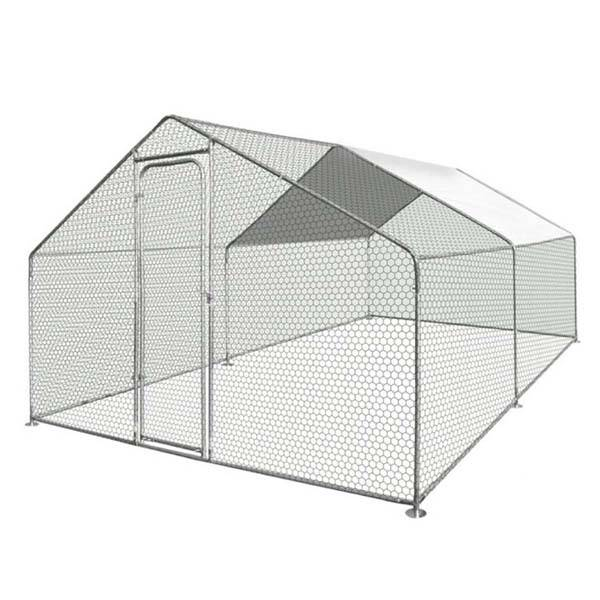 Walk In Chicken Dog Pen Run Cage Coop House Kennel 4x3x2m