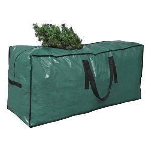 Hot Selling Premium PE Woven Christmas Tree Storage Bag