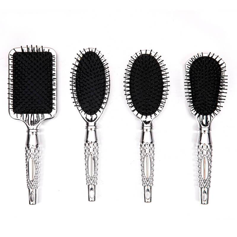 Factory Price For Wet Brush - UV electric,water transfter,shinning printing hair brush with with designed handle – Yongsheng