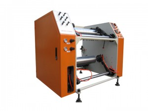 Semi Automatic High Speed Aluminum Foil Rewinding Machine