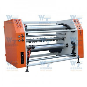 Cling Film Rewinding And Slitting Machine
