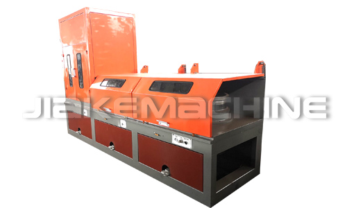 Straight wire drawing machine loading