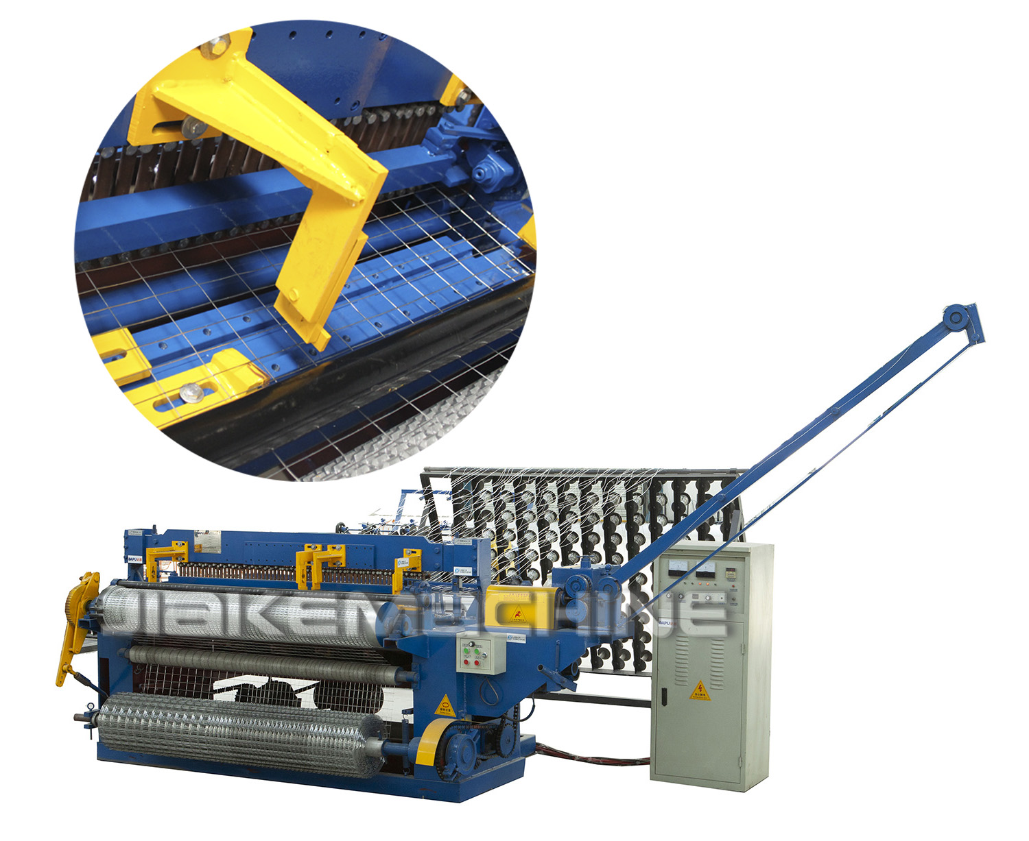 Special designed welded mesh machine project