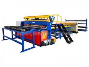 Free sample for Stainless Steel Wire Mesh Panels Machine - Roll Mesh Welded Machine – Jiake