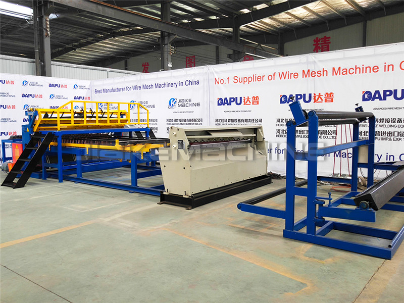 China New Product Flat Wire Mesh Panels Machine - Roll Mesh Welded Machine – Jiake detail pictures