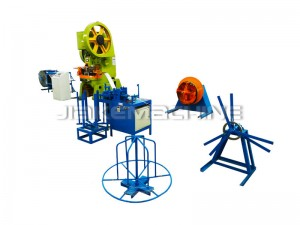 China Cheap price Prison Wall Fence Making Machine - Concertina Razor Barbed Wire Machine – Jiake