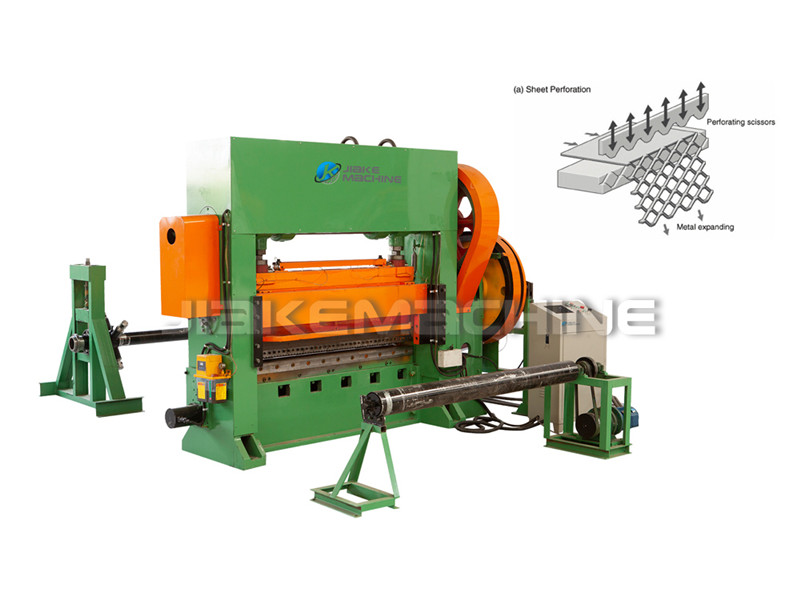 Manufacturer of Aluminum Expanded Metal Machine - Expanded Metal Mesh Machine – Jiake