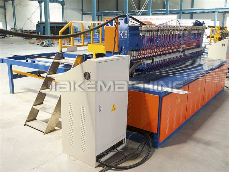 Manufacturer of No Climb Security Fence Machine - 358 Security Fence Welding Machine – Jiake