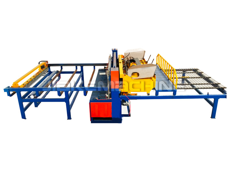 High Quality for Concrete Reinforcing Mesh Roll Machine - Reinforcing Mesh Welding Machine – Jiake