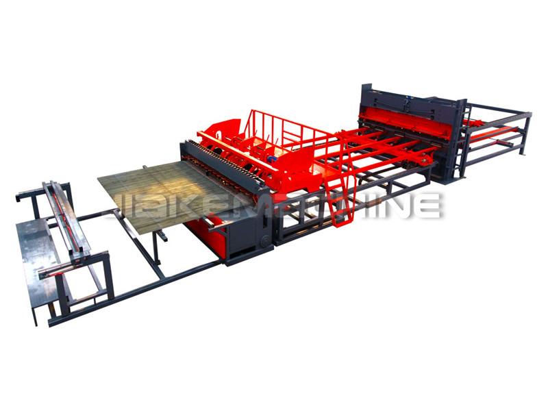 Reasonable price Steel Welded Wire Fence Machine - 3D Fence Welded Mesh Machine – Jiake detail pictures