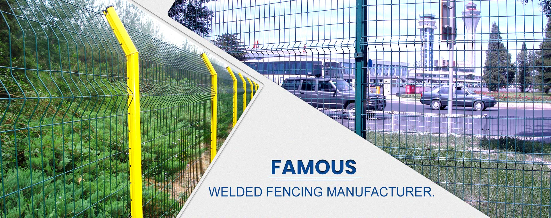 Famous Welded Fencing Manufacturer.