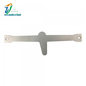 Stainless steel cross orthopedic ankle fixation