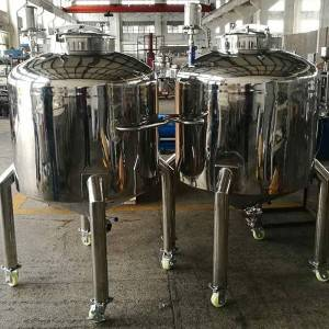 Factory Cheap Hot Used Cryogenic Tanks - Stainless steel tank – Innovate