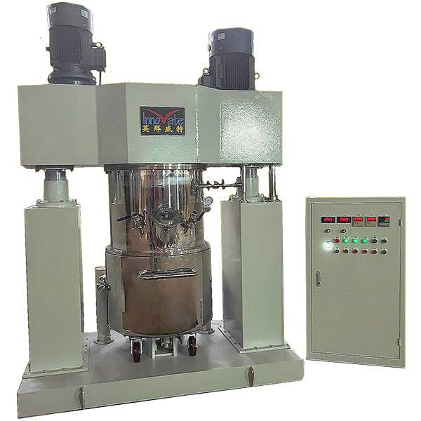 China Factory for Lotion Mixer Cosmetic Machine - Double Column Lifting Planetary Mixer – Innovate
