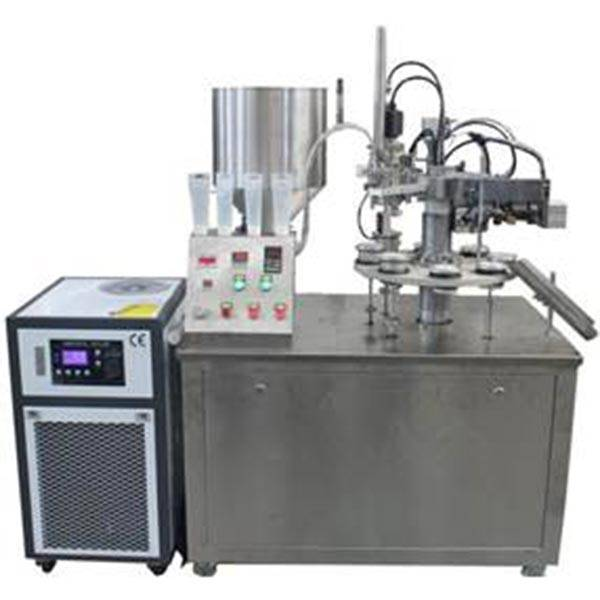 New Delivery for Can Machine Making Tin - Semi-automatic tube filling and sealing machine – Innovate detail pictures