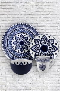 Rapid Delivery for Elizabethan Bone China - Symmetrical pattern pad printing ceramic tableware – WELLWARES