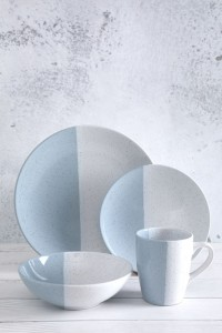 China Gold Supplier for Blue Ceramic Dinnerware - 16 cross-glazed tableware sets – WELLWARES