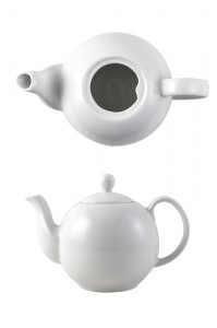 Special Price for Porcelain Tea Set - Anti-falling Lid Design British Porcelain Teapot – WELLWARES