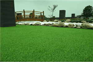 25mm C Shape Promotion Courtyard artificial turf