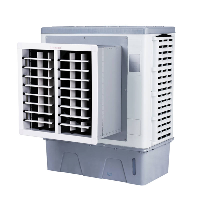 Factory supplied Standing Air Cooler - XK-75C Window desert evaporative air cooler fan – XIKOO detail pictures