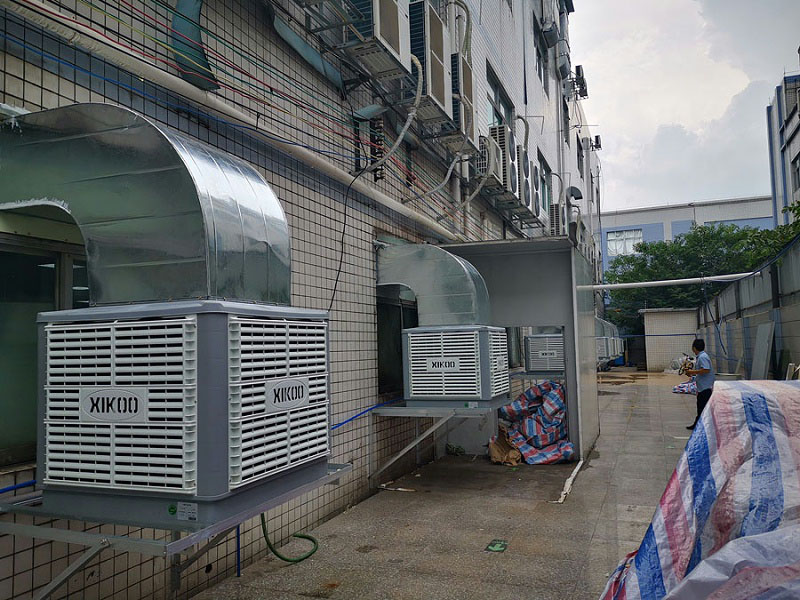 Xikoo Industry Environmental Protection Air Cooler Workshop Cooling Scheme Design Precautions