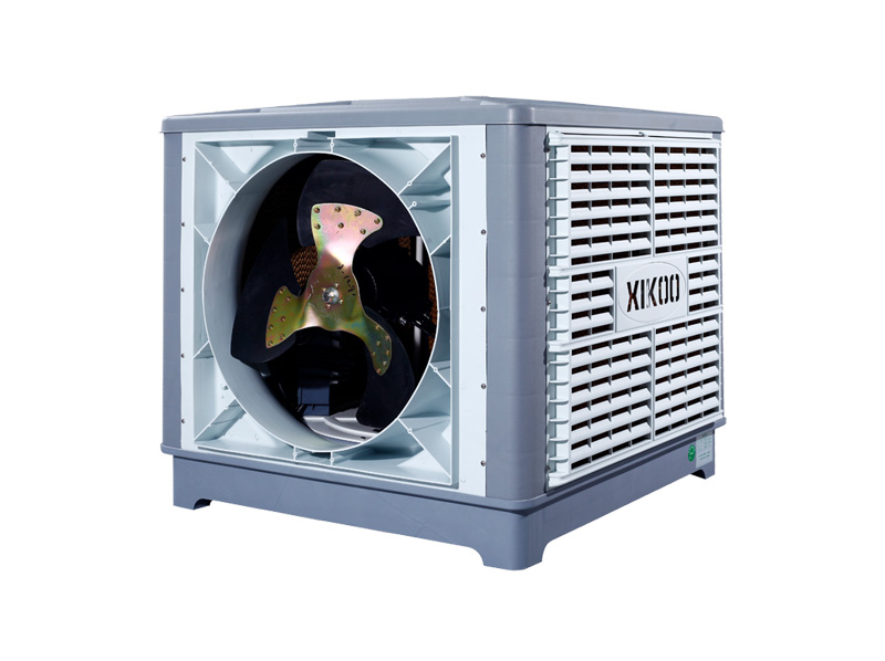 What are the types of industry air coolers in the plant cooling equipment, and installation points?