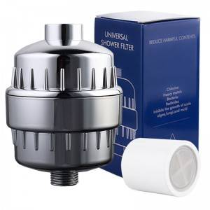 Multi-Stage Shower Filter For Chlorine Heavy Me...