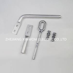 2021 High quality Straight Line Strain Clamp - Strain clamp NY hydraulic type1 – Xinwom