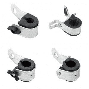 China wholesale Steel Suspension Clamp - Suspension clamp J-hook type – Xinwom