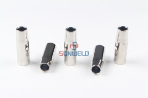 MIG Gas Nozzle Conical φ14*67XL145.D012 for Binzel MIG Welding Torch RF15/RF25
