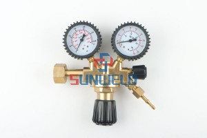 Universal Argon AR CO2 Mig Tig Flow Meter Gas Regulator
