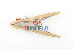 """A"" Style Copper Ground Clamp 500A"
