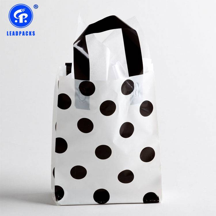 New Arrival China Plastic Packaging Bag - Handle Shopping Bag –  Leadpacks Featured Image