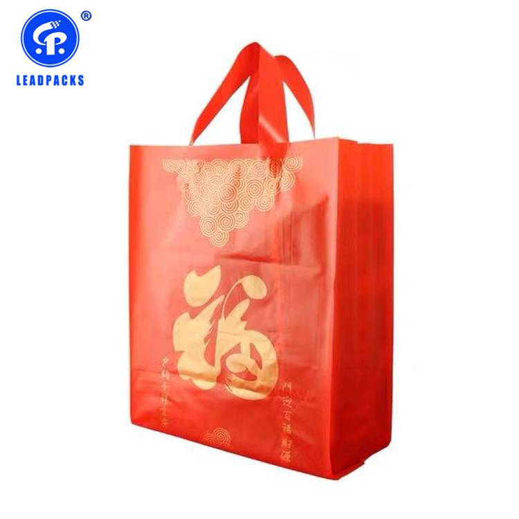 New Arrival China Plastic Packaging Bag - Handle Shopping Bag –  Leadpacks