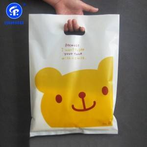 Factory wholesale Bioplastic Bags - Die Cut Shopping Bag –  Leadpacks